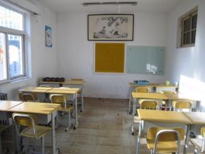 干净明亮的教室
