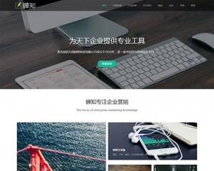 商务互联网公司企业网站